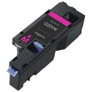 Remanufactured Dell 593-BBJV (G20VW) toner cartridge - magenta