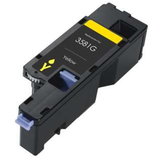 Remanufactured Dell 593-BBJW (3581G) toner cartridge - yellow