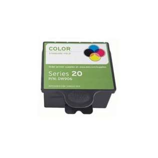 Replacement for Dell DW906 / Series 20 cartridge - color
