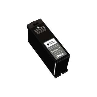 Dell Series 21, GRMC3 Genuine Original (OEM) ink cartridge, black, 180 pages