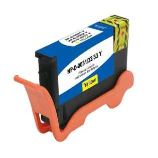 Compatible inkjet cartridge for Dell GRW63 (Series 33) - extra high capacity yellow