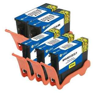 Compatible Dell Series 33 ink cartridges (contains 5 cartridges)