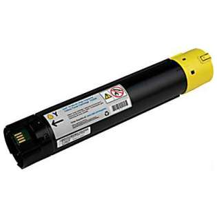 Remanufactured Dell 5130 toner cartridge, 12000 pages, yellow