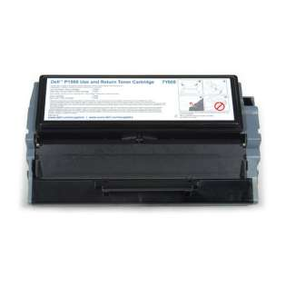 Remanufactured Dell P1500 toner cartridge, 6000 pages, black