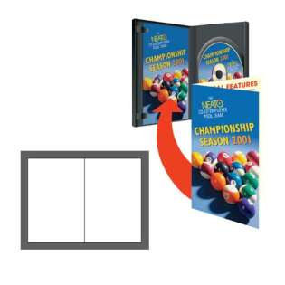 NEATO EconoMatte DVD 500 Case Booklets