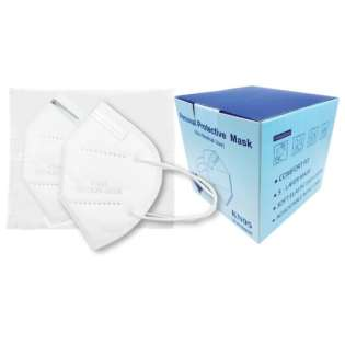 WHOLESALE PRICED KN95 / FFP2 Disposable Protective Face Mask 25 Pack - Comparable to N95 - Minimum 6 pack purchase required