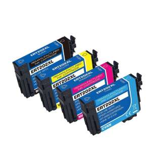 Remanufactured printer ink cartridges Multipack for Epson 202XL - pack of 4