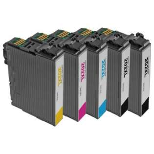 Remanufactured printer ink cartridges Multipack for Epson 202XL - 4 pack