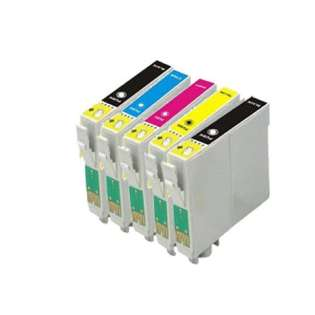 Remanufactured inkjet cartridges Multipack for Epson 212XL - 5 pack - now at 499inks