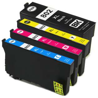 Remanufactured inkjet cartridges Multipack for Epson 802XL - 5 pack