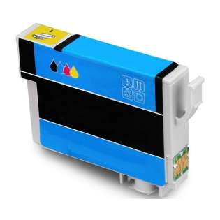 Remanufactured Epson T822XL220 (822XL) inkjet cartridge - high capacity cyan