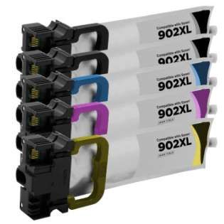 Remanufactured inkjet cartridges Multipack for Epson 902XL - 5 pack - now at 499inks