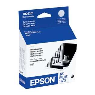 OEM Epson T026201 cartridge - black