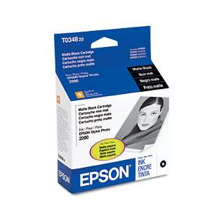 OEM Epson T034820 cartridge - matte black