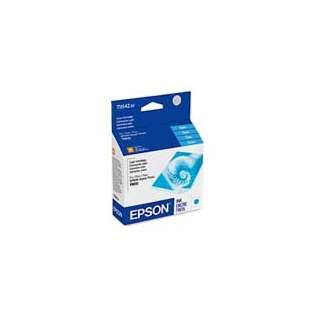 Epson 54, T054220 Genuine Original (OEM) ink cartridge, cyan