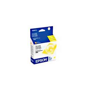 Epson 54, T054420 Genuine Original (OEM) ink cartridge, yellow