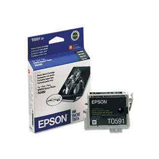 Epson T059120 Genuine Original (OEM) ink cartridge, photo black