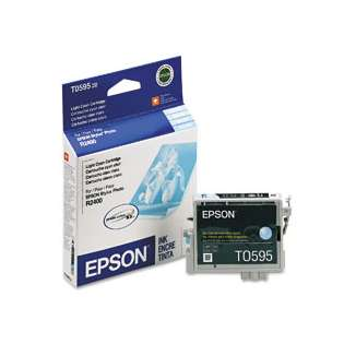 Epson T059520 Genuine Original (OEM) ink cartridge, light cyan
