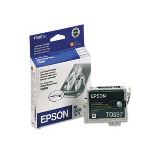 Epson T059720 Genuine Original (OEM) ink cartridge, light black