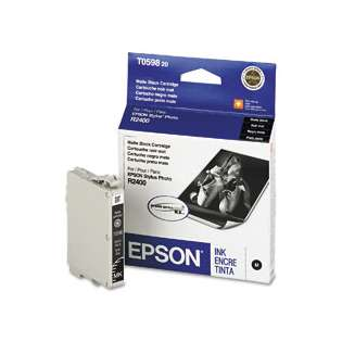Epson T059820 Genuine Original (OEM) ink cartridge, matte black