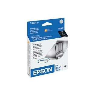 Epson 60, T060120 Genuine Original (OEM) ink cartridge, black