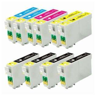 Remanufactured Epson 60 ink cartridges (contains 10 cartridges)