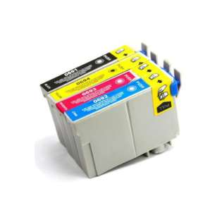 Remanufactured Epson 69 ink cartridges (pack of 4)