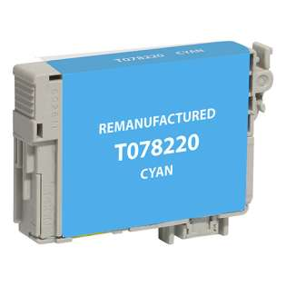 Remanufactured Epson T078220 / 78 cartridge - cyan