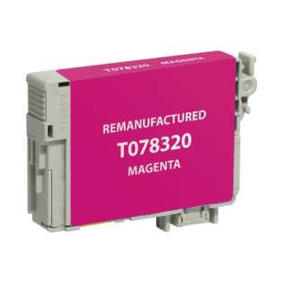 Remanufactured Epson T078320 / 78 cartridge - magenta