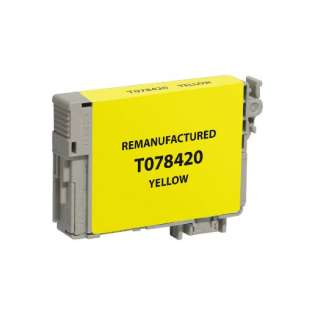 Remanufactured Epson T078420 / 78 cartridge - yellow