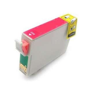 Remanufactured Epson T087720 / 87 cartridge - red