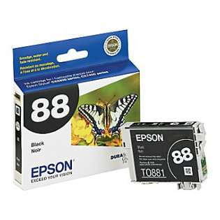 Epson 88, T088120 Genuine Original (OEM) ink cartridge, black