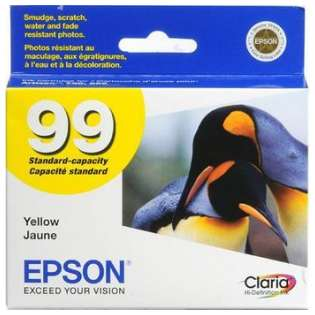 Epson 99, T099420 Genuine Original (OEM) ink cartridge, yellow