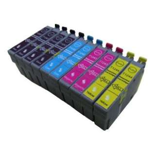 Remanufactured Epson 124 ink cartridges (contains 10 cartridges)