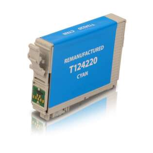 Remanufactured Epson T124220 / 124 cartridge - cyan