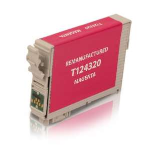 Remanufactured Epson T124320 / 124 cartridge - magenta