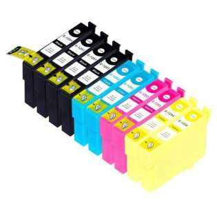 Remanufactured Epson 125 ink cartridges (contains 10 cartridges)