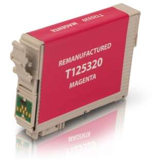 Remanufactured Epson T125320 / 125 cartridge - magenta