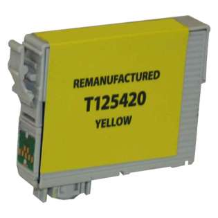 Remanufactured Epson T125420 / 125 cartridge - yellow