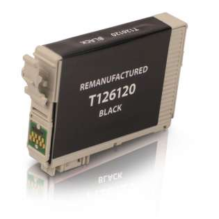 Remanufactured Epson T126120 / 126 cartridge - high capacity black
