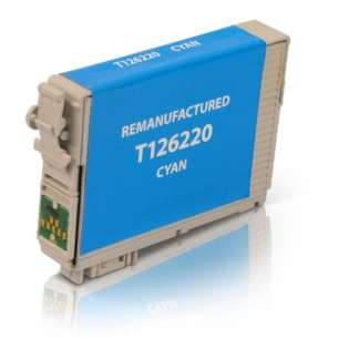 Remanufactured Epson T126220 / 126 cartridge - high capacity cyan