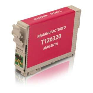 Remanufactured Epson T126320 / 126 cartridge - high capacity magenta
