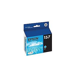 Epson 157, T157220 Genuine Original (OEM) ink cartridge, cyan
