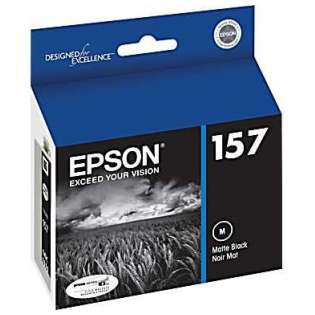 Epson 157, T157820 Genuine Original (OEM) ink cartridge, matte black
