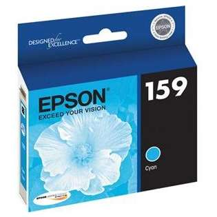 Epson 159, T159220 Genuine Original (OEM) ink cartridge, photo cyan