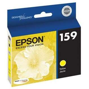 Epson 159, T159420 Genuine Original (OEM) ink cartridge, photo yellow