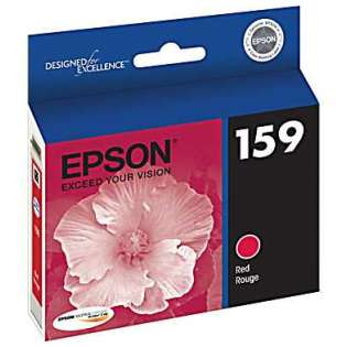 Epson 159, T159720 Genuine Original (OEM) ink cartridge, photo red