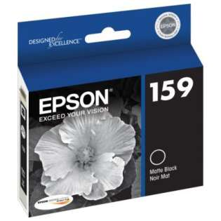 Epson 159, T159820 Genuine Original (OEM) ink cartridge, matte black