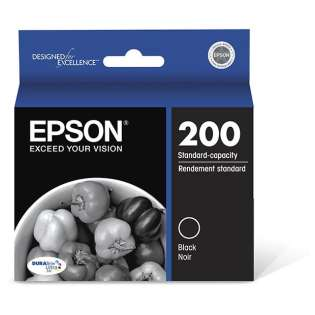 Epson 200, T200120 Genuine Original (OEM) ink cartridge, black
