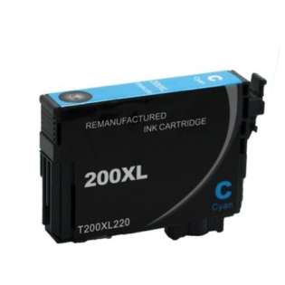Remanufactured Epson T200XL220 / 200XL cartridge - high capacity pigmented cyan